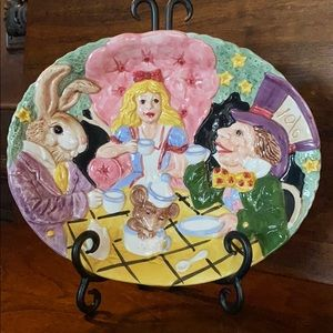 "Fitz and Floyd ""Alice in Wonderland"" Plate"
